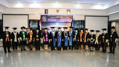 Pengukuhan 14 Guru Besar Unud